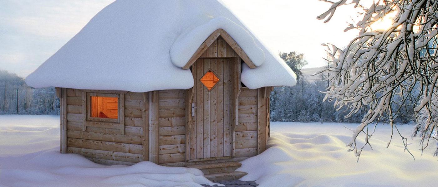 Kota im Schnee